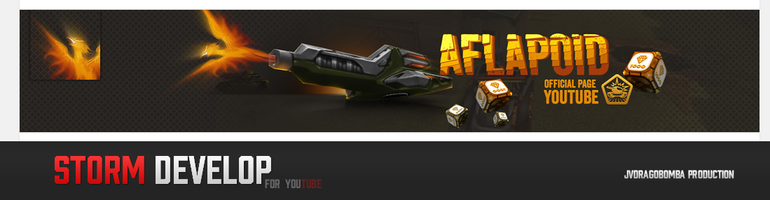 Youtube Design for Aflapoid