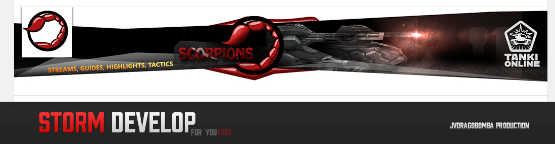 Youtube Design for Scorpoions
