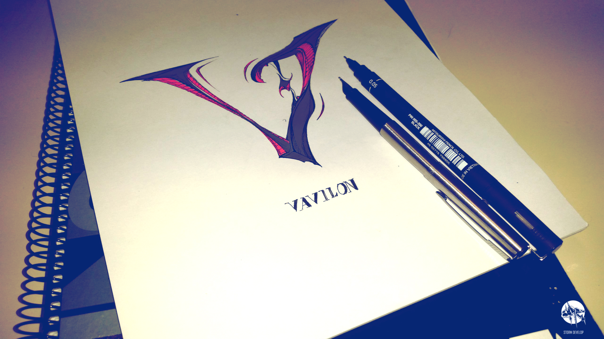 Logo for Clan Vavilon (Tanki Online)