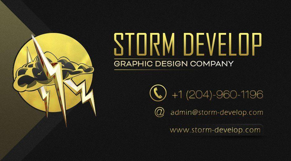 Storm-Develop Visit Card