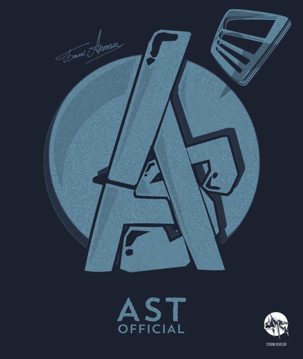 Logo For Clan Ast (Game Tanki Online)