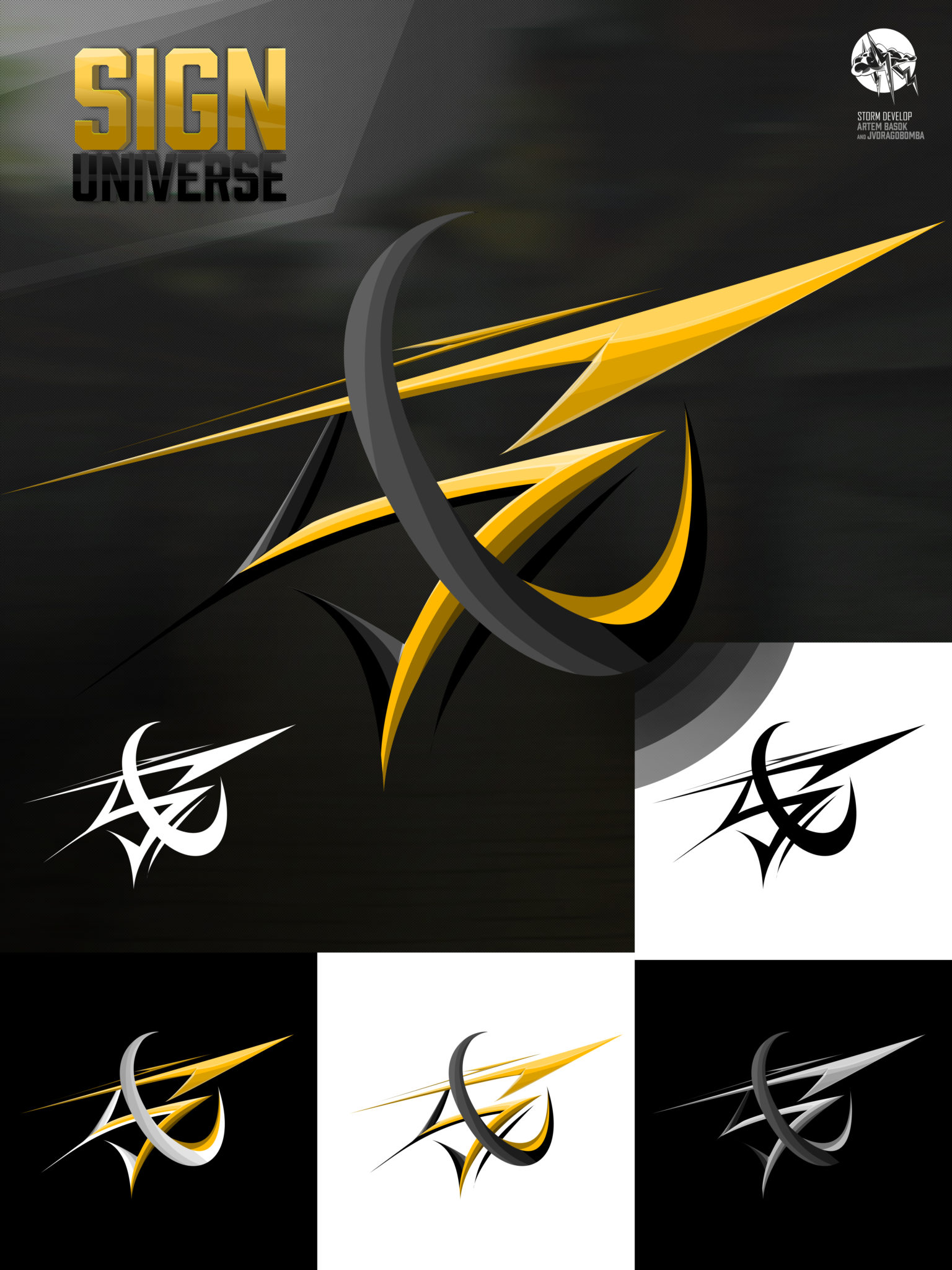 Logo for Sign Universe