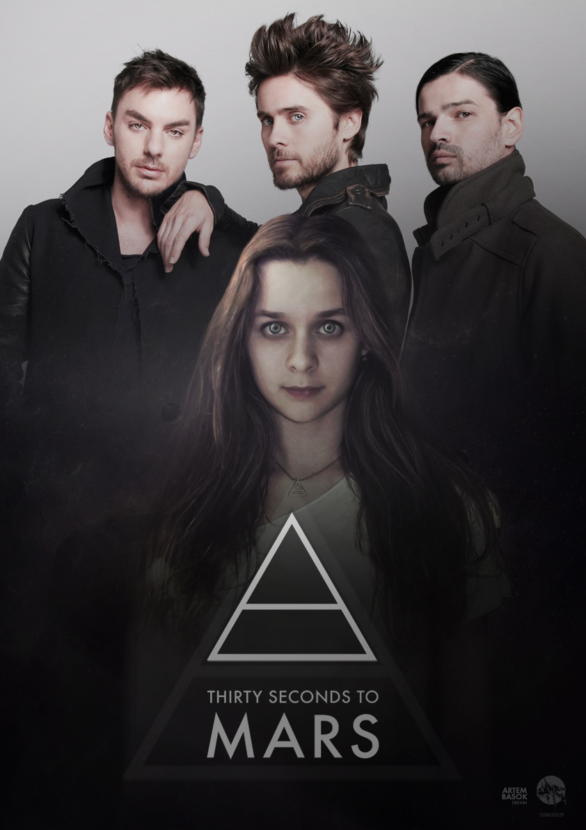 """Poster for movie """"30 seconds to MARS"""""""